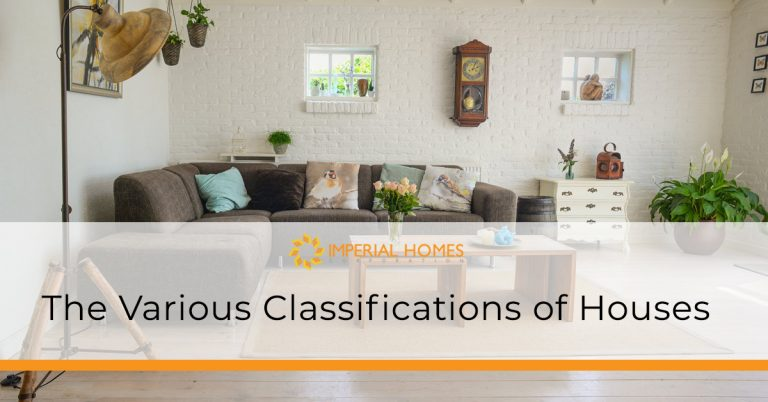 Classifications of Houses
