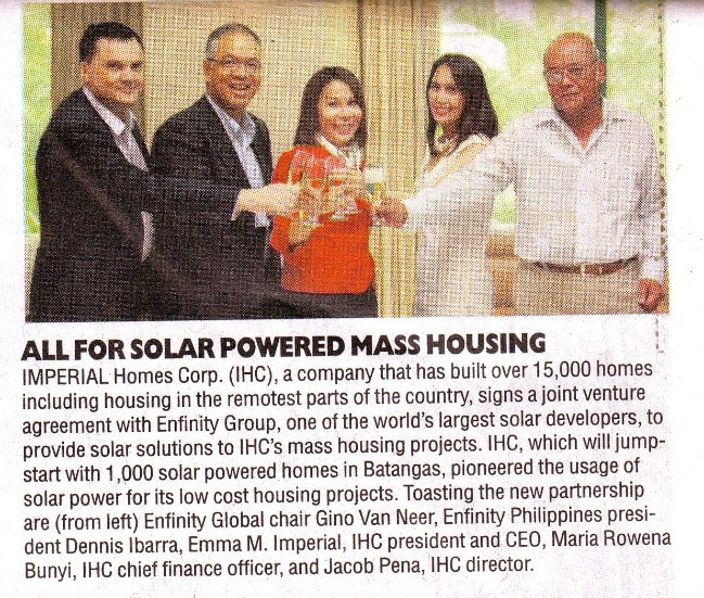 Solar Powered Mass Housing 07-07-2014