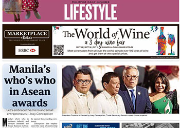Manila's who's who in Asean Awards