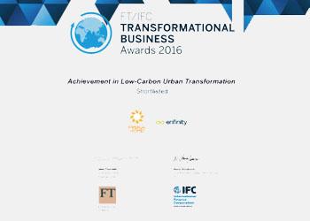 FT-IFC Transformational Business Award 2016
